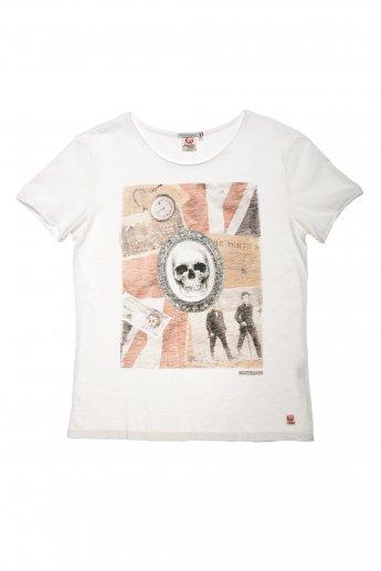 Shirt Canari J.R. - creme