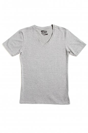 Basic Shirt Petrol - grey