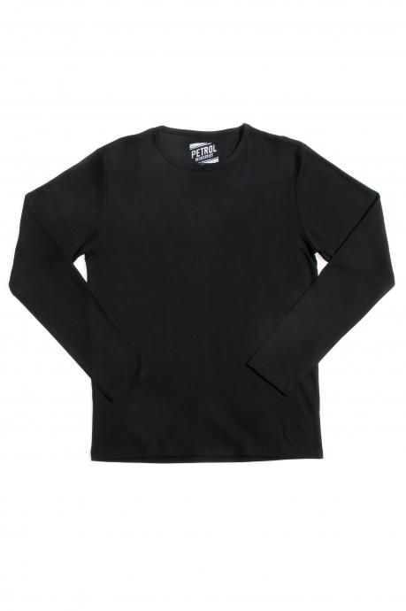 Sweatshirt Bacis PETROL - black