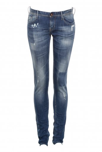 Used look Jeans LTC - blue