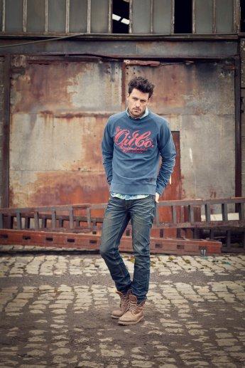Pullover PETROL - dark blue