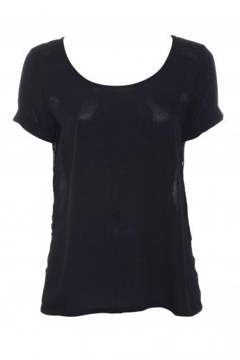 Shirt ONLY HEART - black