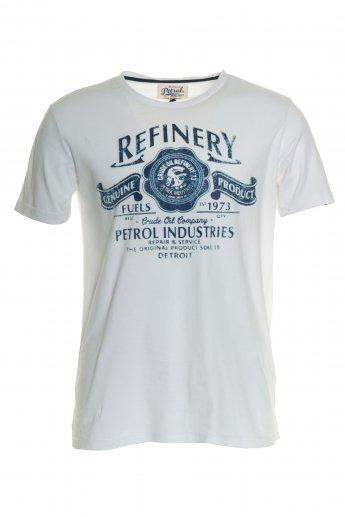 Shirt Petrol Industrie - white