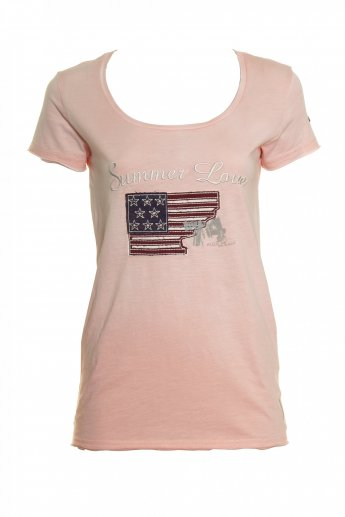 Shirt Summer Love - rose