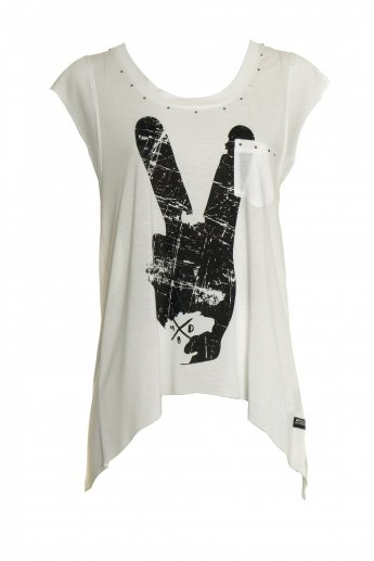 Trend Top M.O.D - white