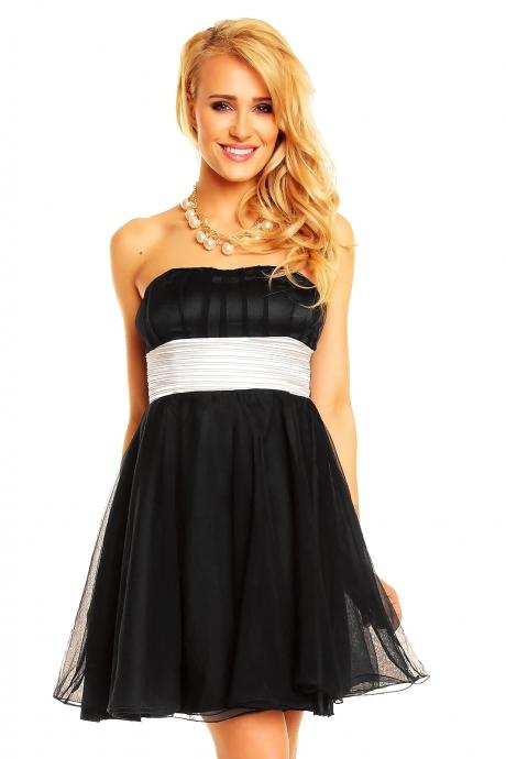 Kleid Viola - black