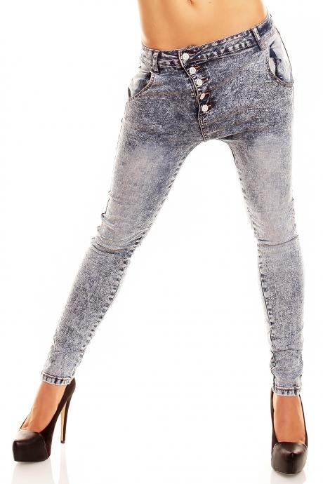 Acid Pump Jeans - blue