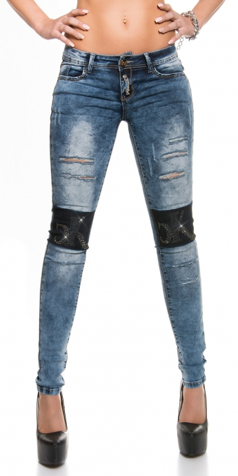 KouCla Jeans Used - blue