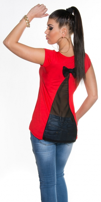 Shirt Valena - red