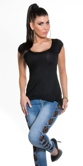 Shirt Valena - black
