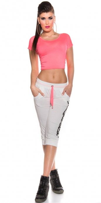 Jogging Pants - white