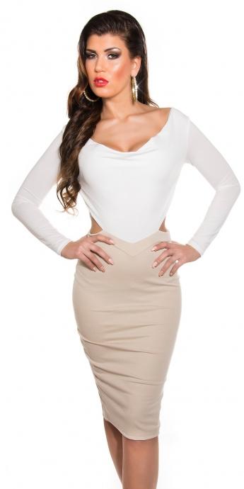 KouCla Etuikleid - white
