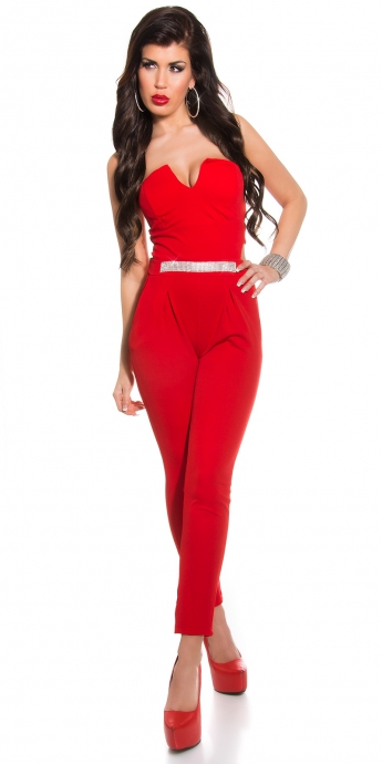 Bandeau-Overall - red