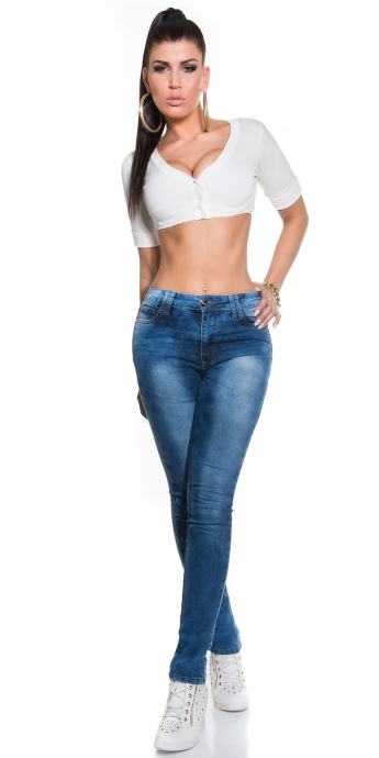 Highwaist Jeans - blue