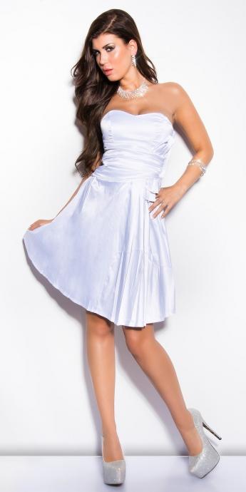 Cocktail Kleid - white