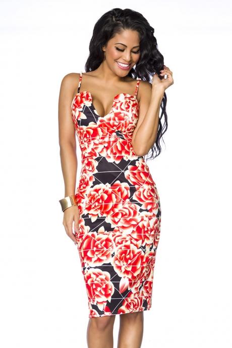 Sommerkleid - red