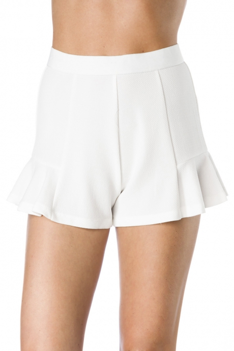 Shorts-Rock - white