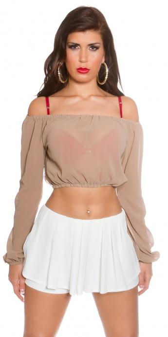 Latina Top - beige