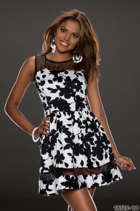 Kleid LUC-CE - black
