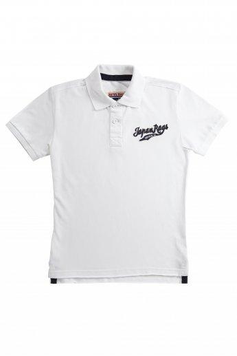 Polo-Shirt Japan Rags - white
