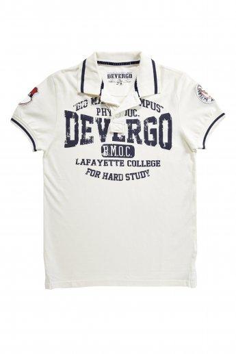 Polo Shirt DEVERGO - white