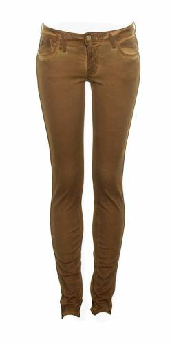 Skinny Röhrenjeans LTC - brown