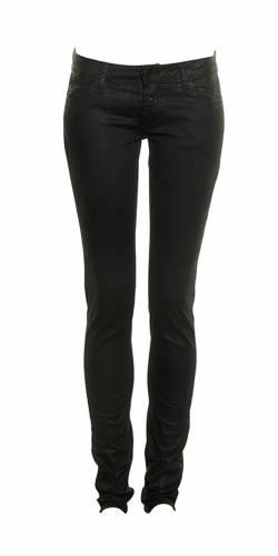 Röhrenhose Shiny LTC - black