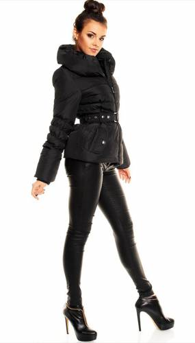 Jacke Down Fresh - black