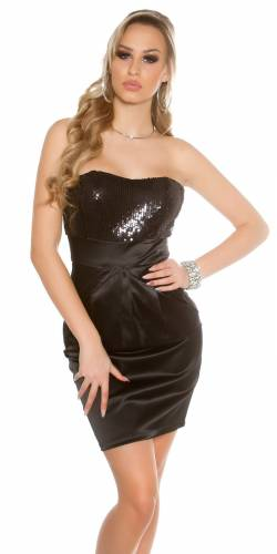 Robe bandeau - black