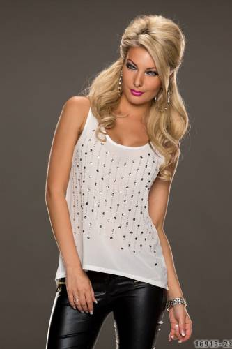 Top Jamila - white