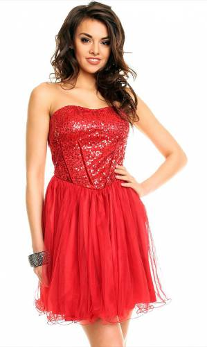 Kleid - red