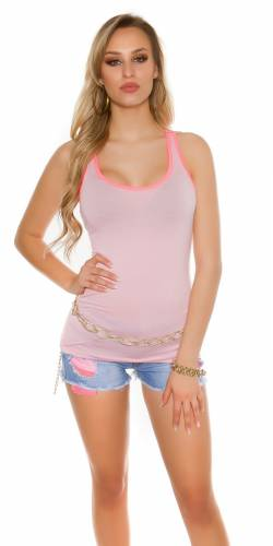 Top Lacey - rose