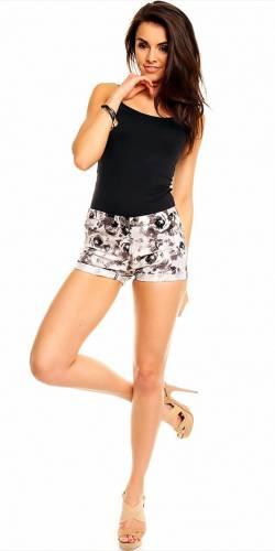 Shorts Flora - grey
