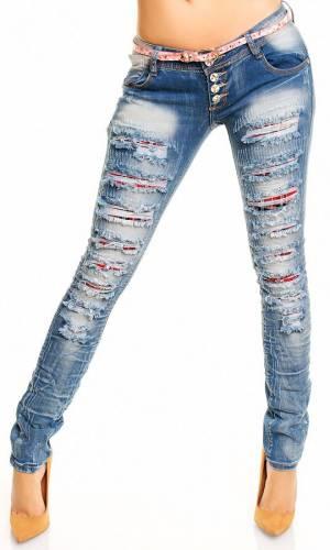 Jeans Mozzar - blue