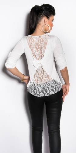 Pullover Aniyah - white