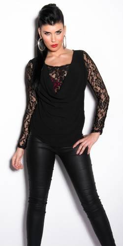 Pullover Elena - black