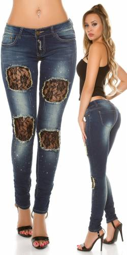 Trend Skinny Jeans - blue
