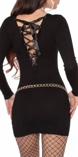 Strickpullover Sissi - black
