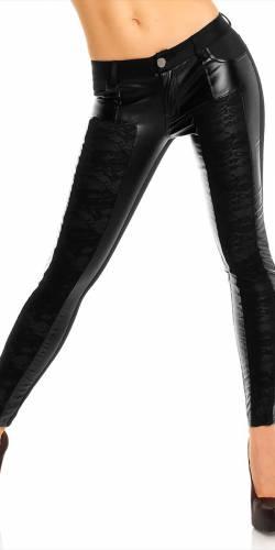 Hose Lely Wood  - black