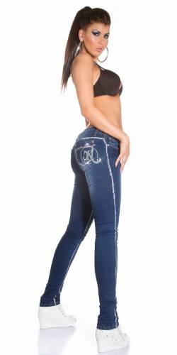 KouCla Skinny Jeans - blue