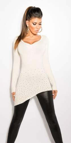 Pullover Megan - white