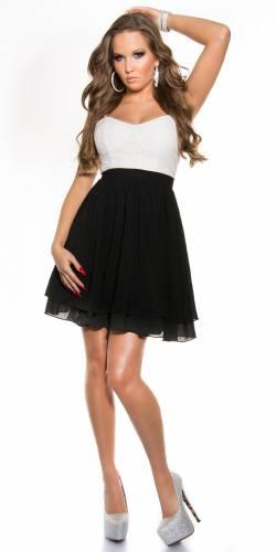 Babydoll Kleid - black