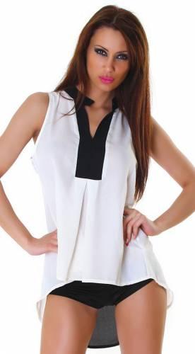 Bluse Maela - white