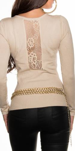 Pullover Tella - beige