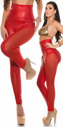 Highwaist Leggings - red