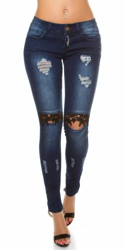 SkinnyJeans - blue