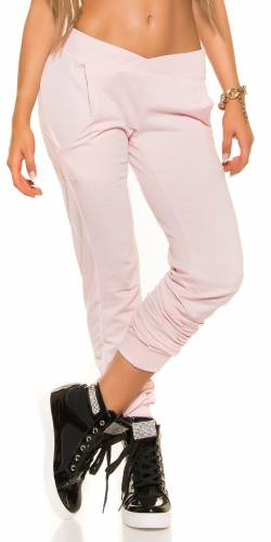LowCut pantalon de jogging - rose