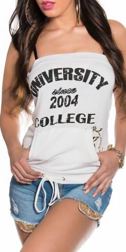 Top University - white