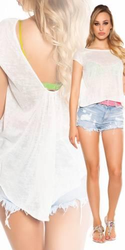 HighLow Shirt - white