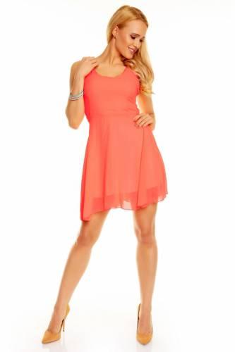 Kleid Style  - coral